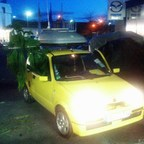 SEF - Cinquecento 1.1 68hp Klima - Survivalfahrzeug/Campingmobil