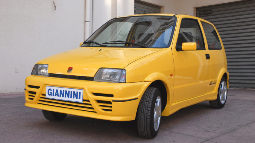 Giannini Cinquecento Sporting - sehr selten