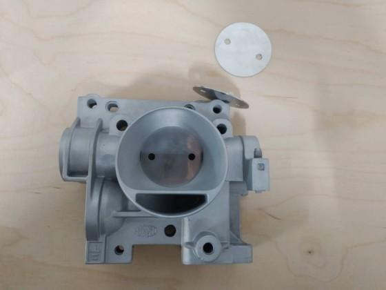 Umbau MPI DK 36mm auf 38mm mit klappe dicke 0,75 anstatt 2mm Original
