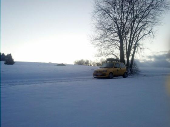 Kein Winter ohne festfahren