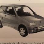 Giannini Cinquecento Sportline